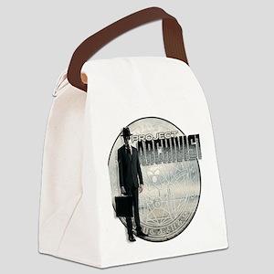 Project Archivist White T Canvas Lunch Bag
