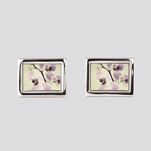 Light Orchids Cufflinks