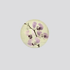 Light Orchids Mini Button