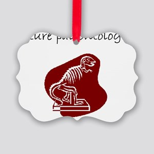 future paleontologist Picture Ornament