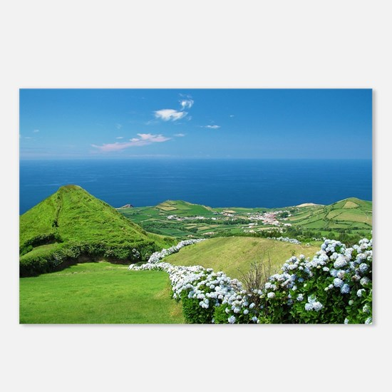 Azores landscape Postcards (Package of 8)