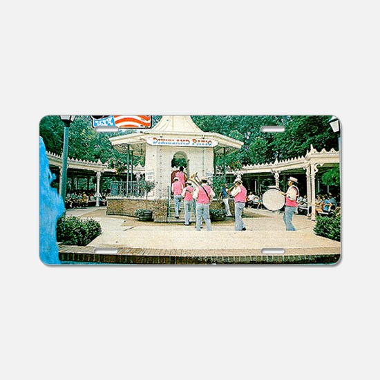 Opryland Postcard Aluminum License Plate