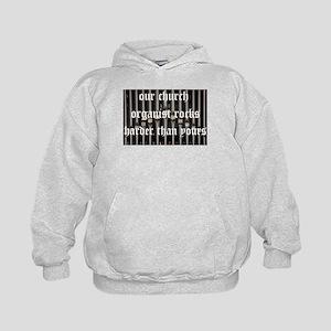 organist kid hoodie