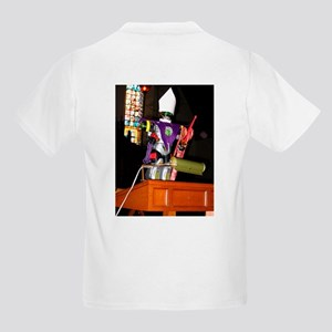 """Kids Light T-Shirt with """"transformer"""" on front"""