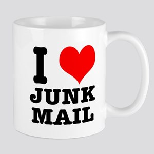 I Heart (Love) Junk Mail Mug