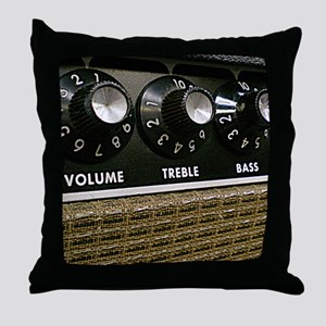 Amp Control Panel shirt Throw Pillow