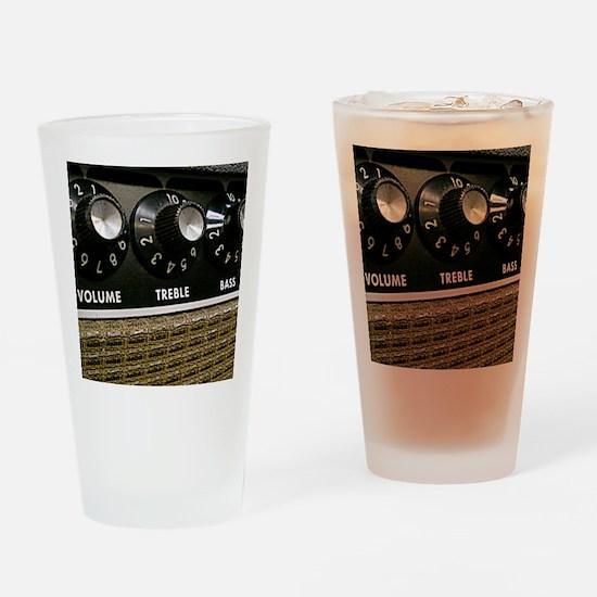 Vintage Amplifier Drinking Glass