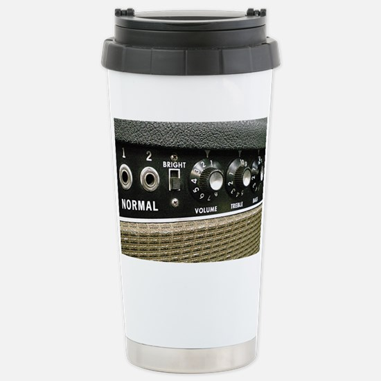 Tube Amp Panel Stainless Steel Travel Mug