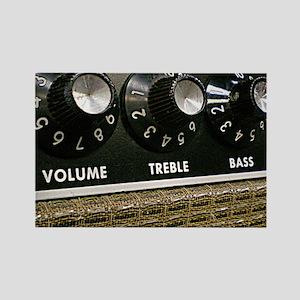 Vintage Amplifier Rectangle Magnet