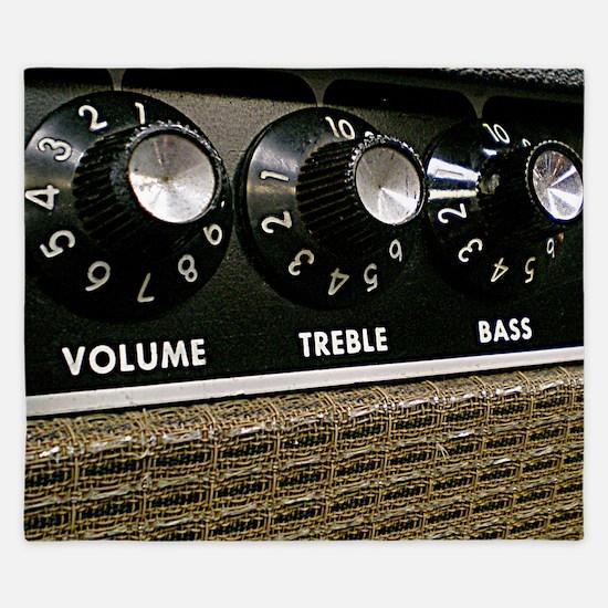 Vintage Amplifier King Duvet