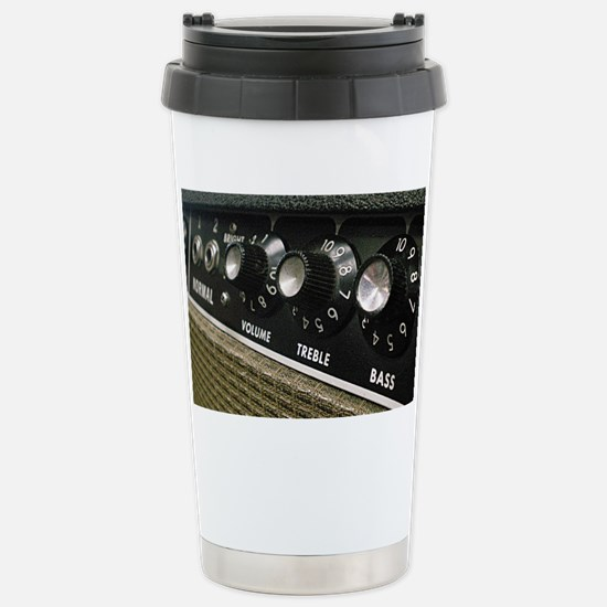 Amplifier panel Stainless Steel Travel Mug