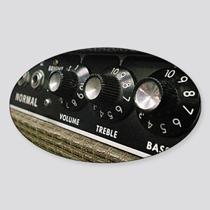 Amplifier panel Sticker (Oval)