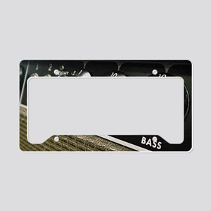 Amplifier panel License Plate Holder