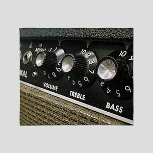 Amplifier panel Throw Blanket