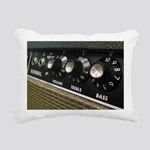 Amplifier panel Rectangular Canvas Pillow
