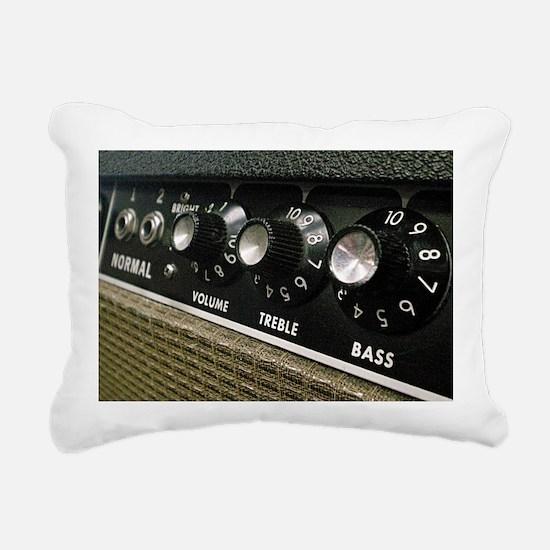 Amplifier panel Rectangular Canvas Pillow