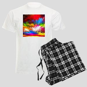 Abstract Clouds Men's Light Pajamas