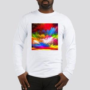 Abstract Clouds Long Sleeve T-Shirt