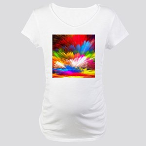 Abstract Clouds Maternity T-Shirt