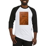 Wolf Tracks on Geyser Basin Baseball Jersey
