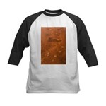 Wolf Tracks on Geyser Basin Kids Baseball Jersey