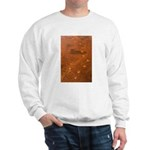 Wolf Tracks on Geyser Basin Sweatshirt