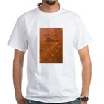 Wolf Tracks on Geyser Basin White T-Shirt