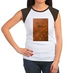 Wolf Tracks on Geyser Basin Women's Cap Sleeve T-S