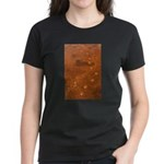 Wolf Tracks on Geyser Basin Women's Dark T-Shirt