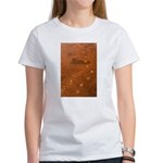Wolf Tracks on Geyser Basin Women's T-Shirt