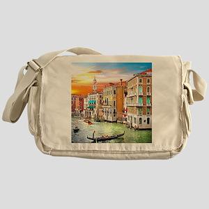Venice Photo Messenger Bag
