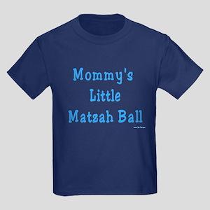 Mommy's Little Matzah Ball Passover Kids Dark T-Sh
