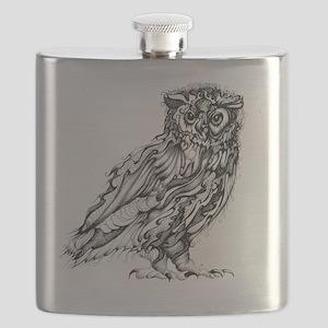 Beautiful Owl Flask