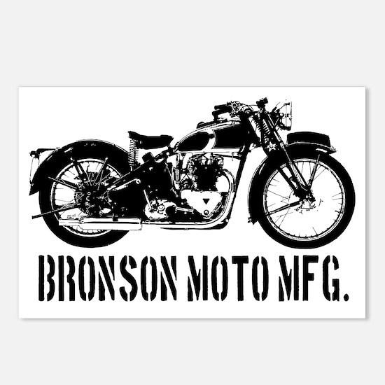 Bronson Moto Mfg. Postcards (Package of 8)