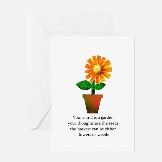 Spiritual Gardenin Greeting Cards