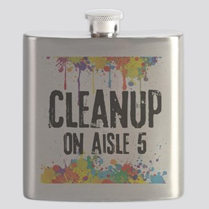 Cleanup on Aisle 5 Flask