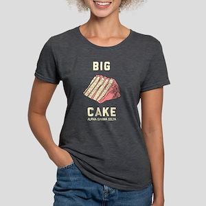 Alpha Gamma Delta Big Cak Womens Tri-blend T-Shirt