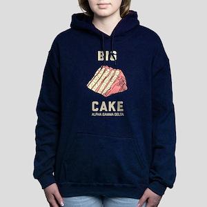 Alpha Gamma Delta Big Ca Women's Hooded Sweatshirt
