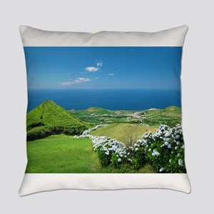 Azores landscape Everyday Pillow