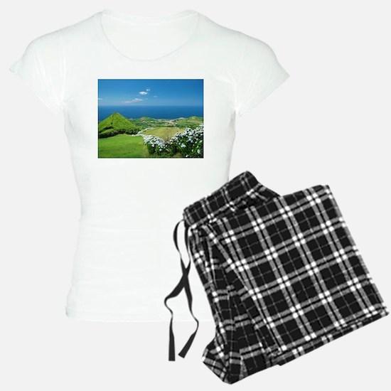 Azores landscape Pajamas