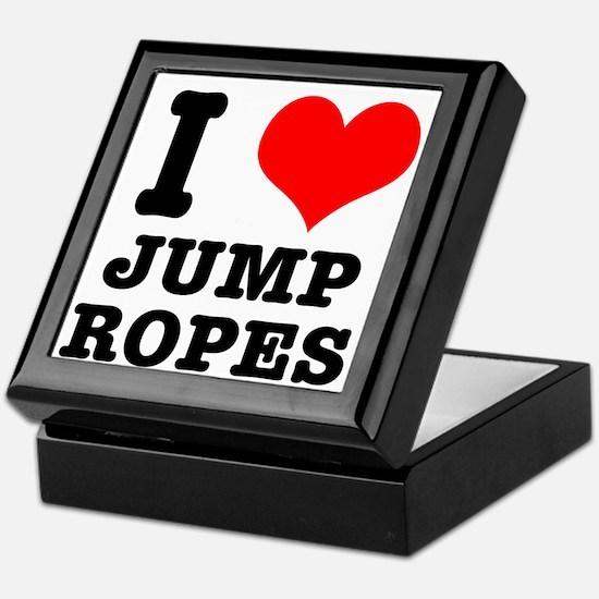I Heart (Love) Jump Ropes Keepsake Box