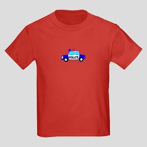 Wee Police Cruiser! Kids Dark T-Shirt