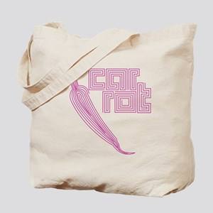 nvy-pull_carrot Tote Bag