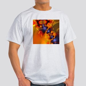 Orange Eyes Aglow Light T-Shirt