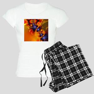 Orange Eyes Aglow Women's Light Pajamas