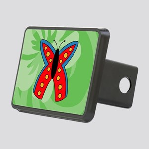 Butterfly Pillow Case Rectangular Hitch Cover