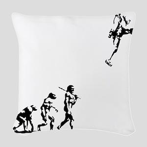 evolution-rocket-LTT Woven Throw Pillow
