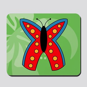 Butterfly Large Serving Tray Mousepad