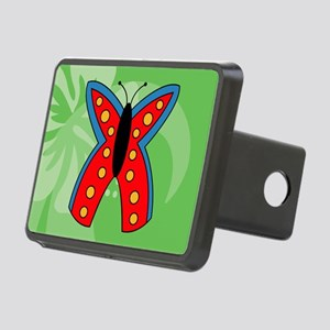 Butterfly Large Serving Tr Rectangular Hitch Cover