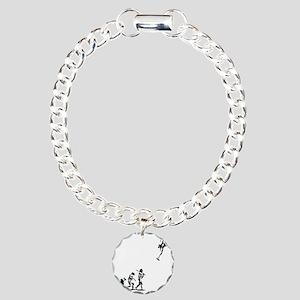evolution-rocket-LTT Charm Bracelet, One Charm